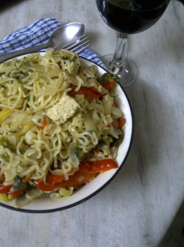 Healthy Maggi Noodles with Vegetables 4